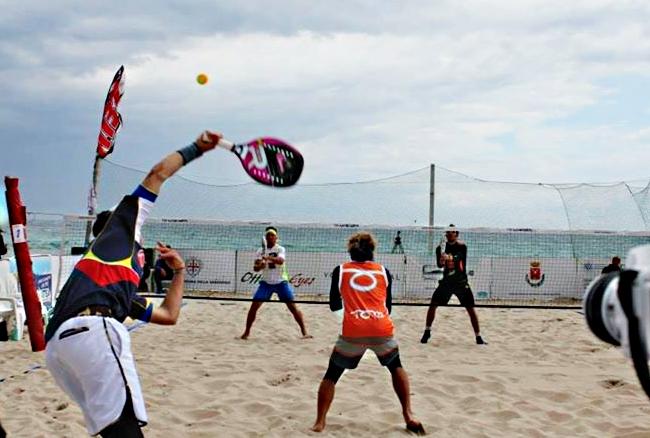 Notizie Star : Articoli Beach Tennis <b>Beach tennis</b>, segui in diretta streaming la due giorni della Sant <b>…</b>