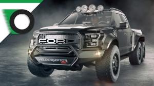 Ford F150 Velociraptor 6×6, più estrema non si può
