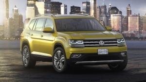 """Volkswagen Atlas, il nuovo """"mega SUV"""" per gli USA"""