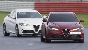 """Alfa Romeo Giulia Quadrifoglio, nuovo record """"bendato"""" [VIDEO]"""