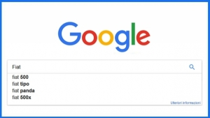 Le auto più cercate su Google nel 2016