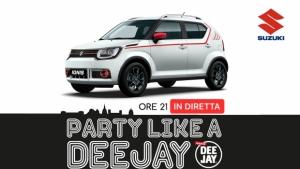 Suzuki Ignis è l'auto della festa di Radio Deejay