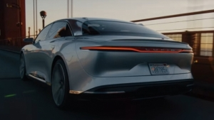 Lucid Air, nuovo video tra le strade di San Francisco [VIDEO]