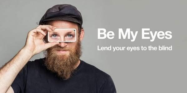 Be My Eyes, l'app per prestare i propri occhi a un non vedente <b>…</b>