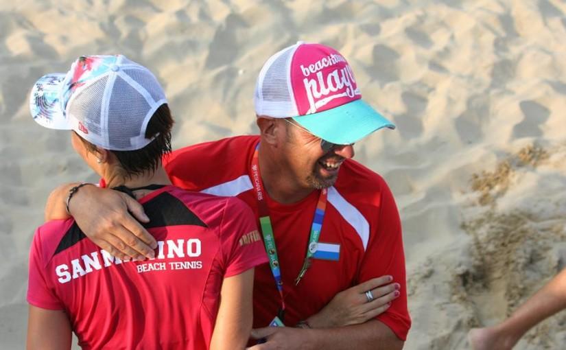 Notizie Star : Beach Tennis Pescara 2015: Titane di bronzo nel <b>beach tennis</b>