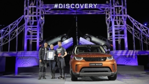 Land Rover Discovery, record del mondo… Di Lego