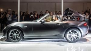 Mazda, una festa per la presentazione italiana della MX-5 RF