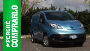Nissan e-NV200, la prova del van elettrico [VIDEO]