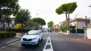 """Asfalto """"silenzioso"""", primo tratto sperimentale a Rimini"""