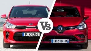 """Kia Rio VS Renault Clio, primo confronto """"a distanza"""""""