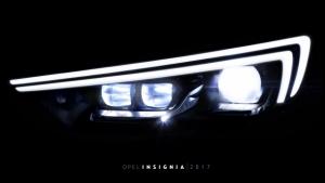 Nuova Opel Insignia, al debutto la seconda generazione dei fari IntelliLux LED