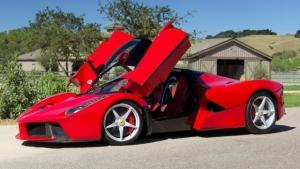 Ferrari LaFerrari, all'asta per 7 milioni di dollari l'esemplare 500