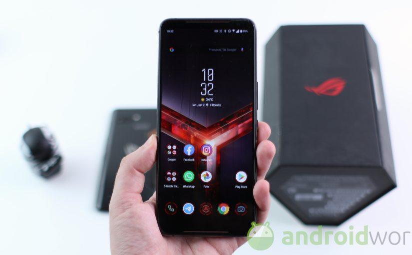 Asus pubblica il firmware con Android 10 e il codice sorgente del kernel di ROG Phone II