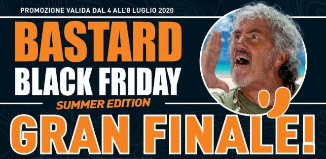 """Volantino Unieuro """"Bastard Black Friday – Gran Finale"""" 4-8 luglio: gli ultimi super sconti! (foto)"""