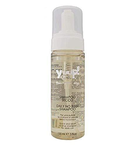 Yuup Shampoo Secco – Schiuma per una pulizia quotidiana e veloce senza risciacquo, per cani e gatti