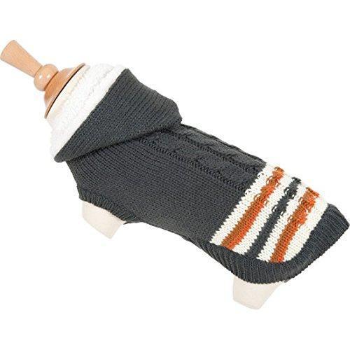 Zolux Pullover Jac con cappuccio, Grigio Maglione per cani cane giacca cappotto per cani
