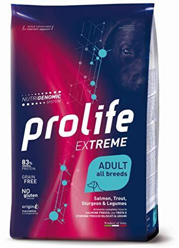Prolife Extreme Adult all Breeds Salmone Trota Storione e Leguimi 2.5Kg