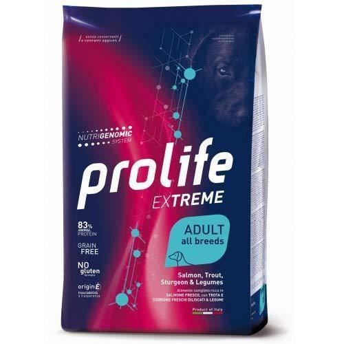 Prolife Extreme Salmone, Trota, Storione E Legumi 10 kg