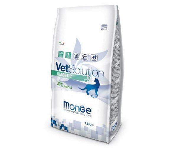 Monge Vet. Solution Gatto Diabetic kg. 1,5 Cibo Gatti
