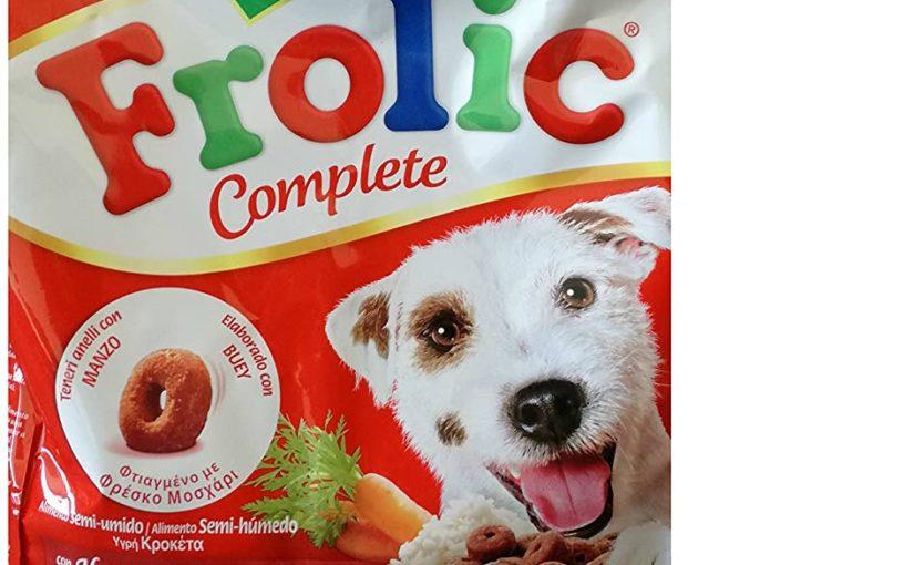 Frolic Alimento Semiumido al Gusto Manzo Per Cani Mini (Conf. da 1 kg)
