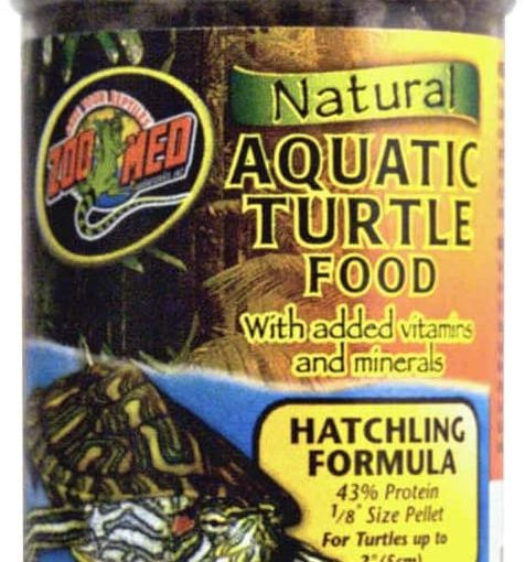 Zoomed Food Natural Aquatic Turtle Micro Pellet – 45,30 g