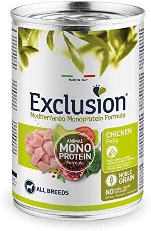 Exclusion Adult MONOPROTEICO Pollo 400 gr