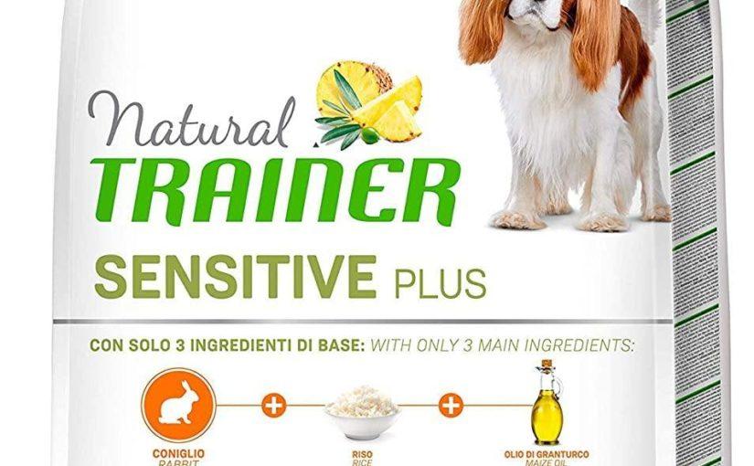 Trainer Natural Sensitive Plus – Cibo per Cani Small&Toy Adult con Coniglio-Riso-Olio 7kg