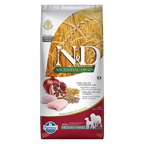 Farmina N&d Dog Pollo e Melograno Adult Medium Maxi 12 kg