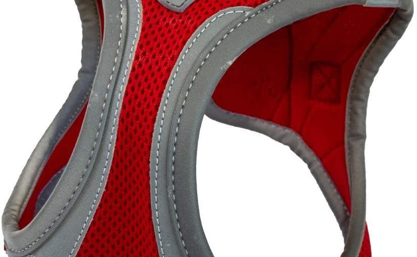 Croci Pettorina per Cani Hiking Reflective, Misura L, Colore Rosso
