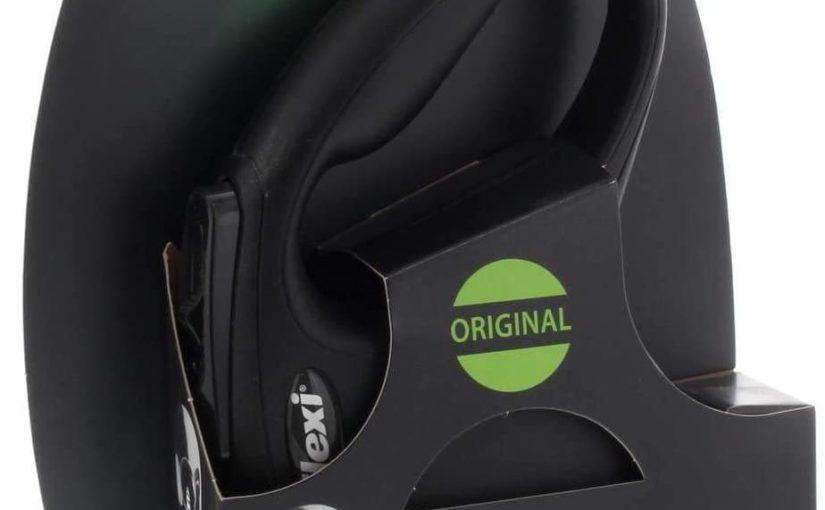 Croci C5055143 Guinzaglio Flexi New Classic Cord, Nero