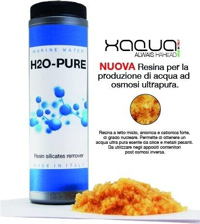 XAQUA H2O ULTRAPURE – Resins for the production of ultra pure osmosis water 1