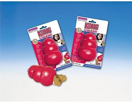 Kong Classic Kong Dog Toy, rosso, medium