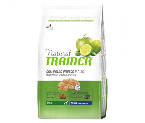 Natural Trainer Trainer Natural Maxi Pollo Riso 12 Kg