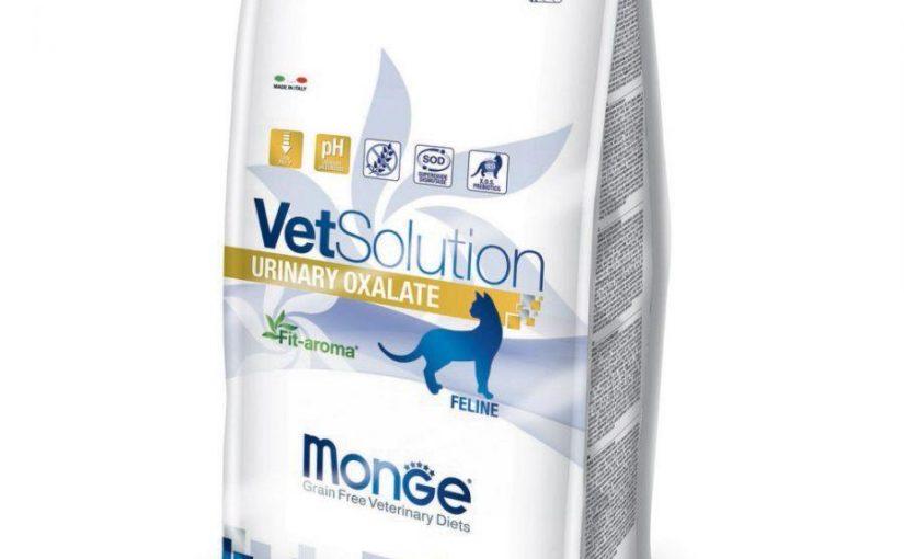 Monge Vet Solution per gatti Urinary Oxalate 1,5 kg
