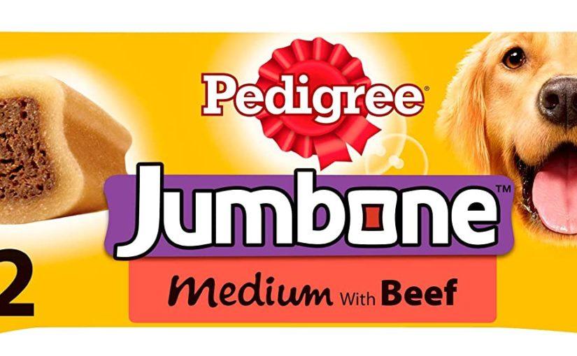 Pedigree Jumbone Medium with Beef 2 x 200g