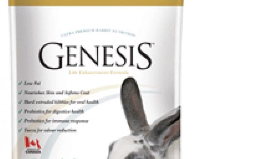 Genesis Verde – Mangime Ultra Premium per Conigli Adulti o Maturi – con Erba Timothy con Omega 3 & 6, Pochi Grassi, Yucca, Mos, Inulina – kg.1