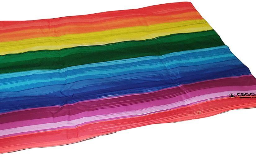 Croci Tappetino Auto Refrigerante Breeze Pride per Cani e Gatti. Rinfresca L'Animale Senza Ausili Supplementari Come Corrente Elettrica O Acqua e Senza Doverlo Riporre 65 x 50 cm – 2700 g