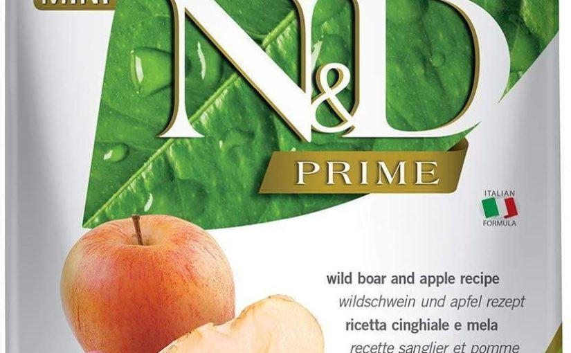 Farmina Dog N&D Prime Adult Mini Grain Free Cinghiale e Mela 2,5 kg