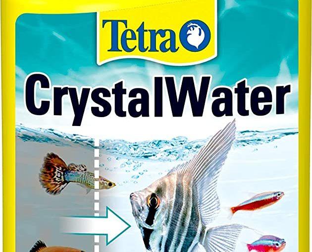 Tetra CrystalWater 250 ml, Elimina in Modo Facile e Veloce l'Intorbidimento dell'Acqua dell'Acquario