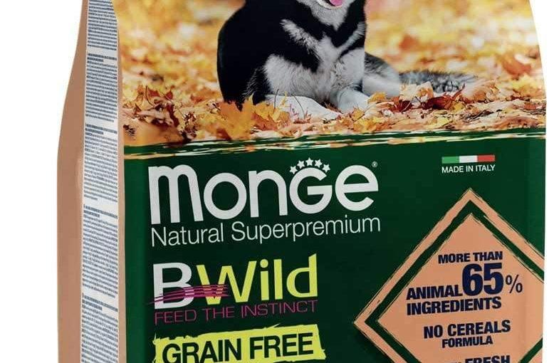 Monge BWild Grain Free Salmone e Piselli Adult per Cani 2,5 Kg