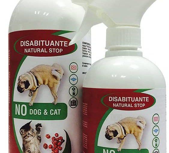Union Bio No Dog & Cat – Repellente Per Cani e Gatti, Non Macchia Non Lascia Aloni, Biologico Vegetale, Disabituante 100% Naturale, Esterno Interno, Profuma – 1Litro